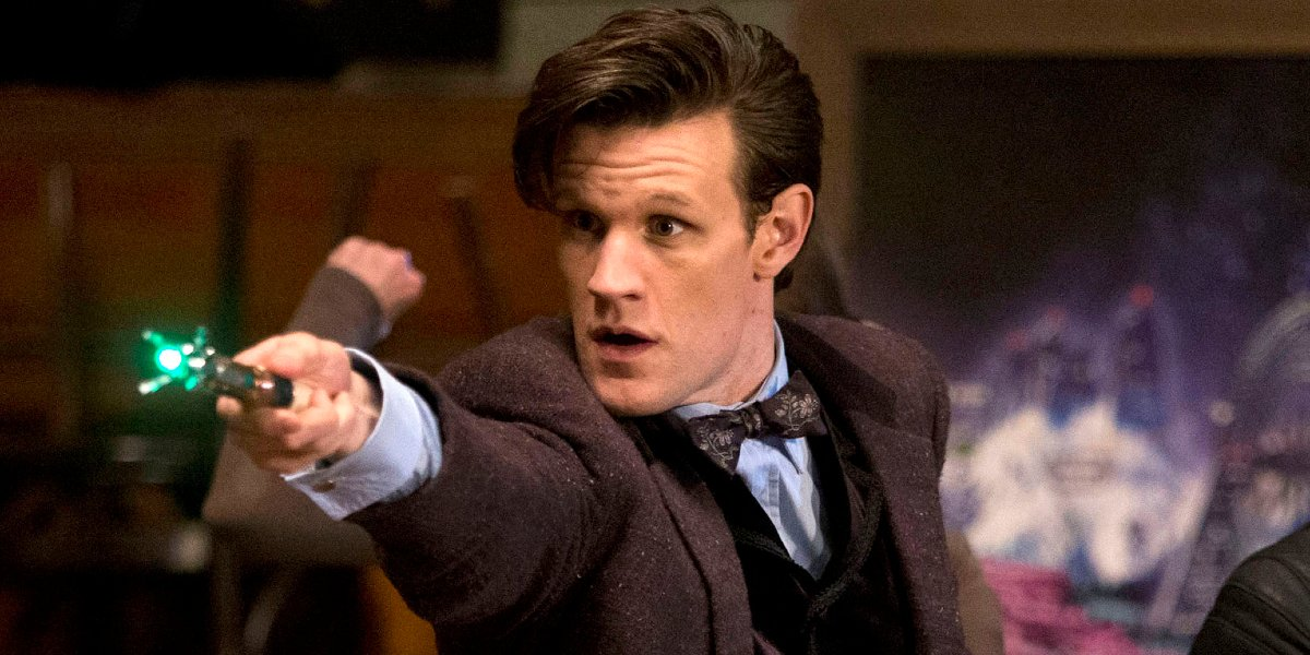 Matt Smith on Doctor Who