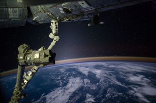 outer space, iss