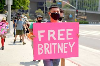 #FreeBritney protests.