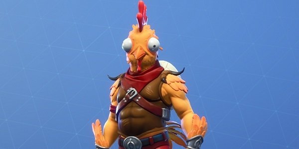 Eight Year Old S Fortnite Chicken Skin Idea Becomes A Reality