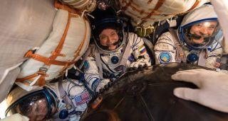 Soyuz MS-04 Landing