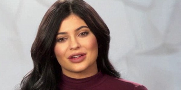 Kylie Jenner on Keeping Up with the Kardashians in a mock turtleneck