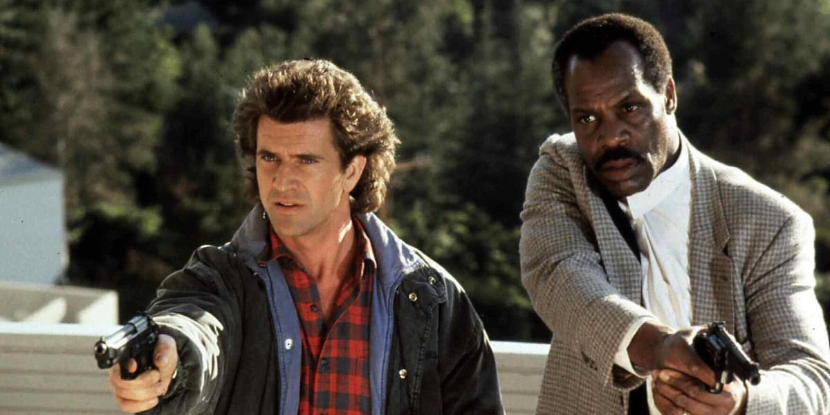 Mel Gibson and Danny Glover in Lethal Weapon 2