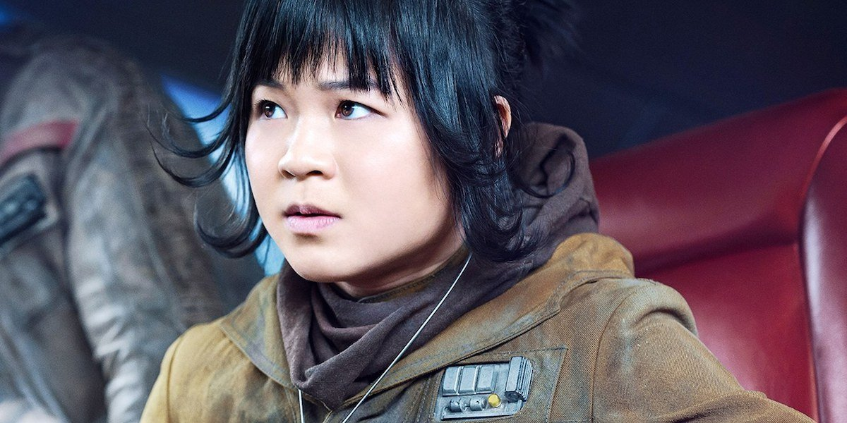 Kelly Marie Tran as Rose Tico in Star Wars: The Last Jedi