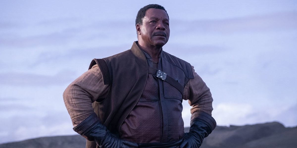 Carl Weathers as Greef Carga in The Mandalorian