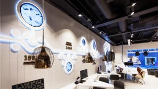 Elisa's flagship store in Helsinki.