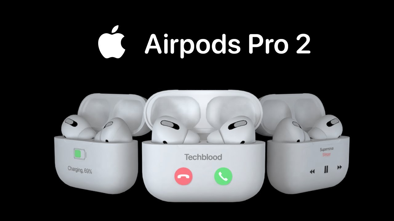 Apple AirPods Pro 2 concept
