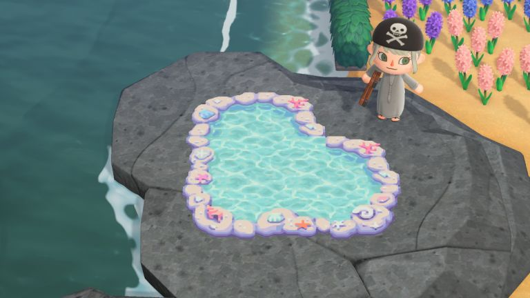 Animal Crossing: tide pool