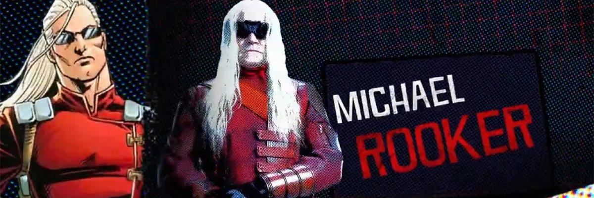 Savant (Michael Rooker) The Suicide Squad