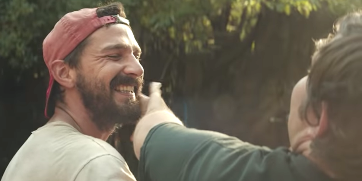 Shia LaBeouf Credits Peanut Butter Falcon Co-Star With Saving His ...