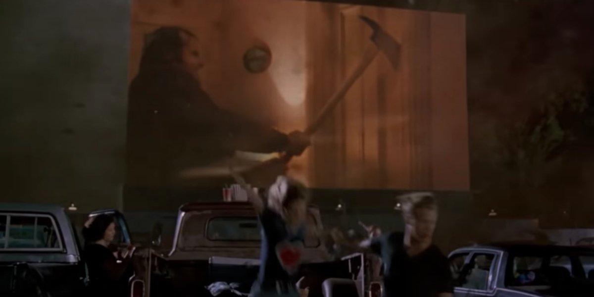 The Shining scene in Twister