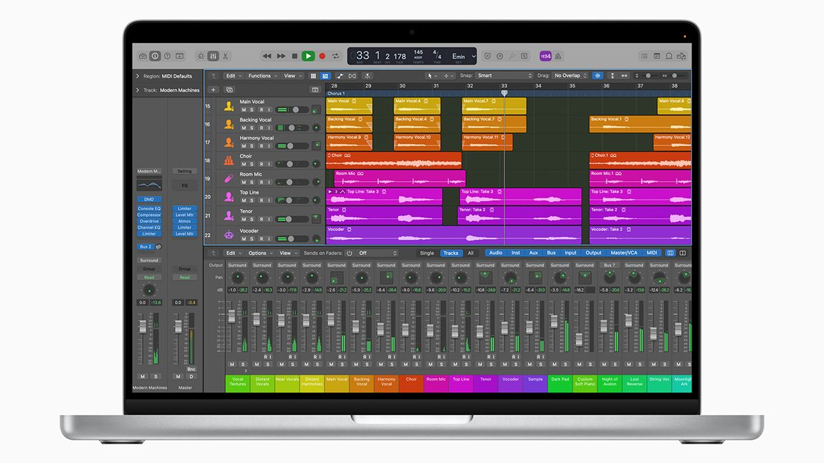 Apple unveils the new MacBook Pro with M1 Pro and M1 Max chips: a music production dream machine?