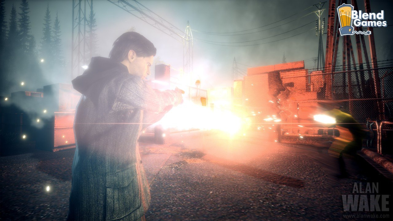 Alan Wake Screenshots Are All About The Flashlight #11185