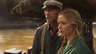 Dwayne Johnson and Emily Blunt star in Disney's Jungle Cruise