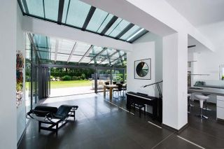 Modern sunroom by Solarlux