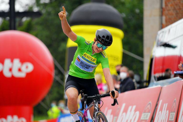 Lotte Kopecky wins the 2021 Lotto Belgium Tour