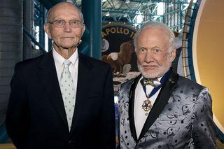 Apollo 11's Michael Collins and Buzz Aldrin