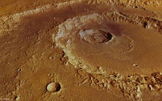 Hadley Crater Perspective View