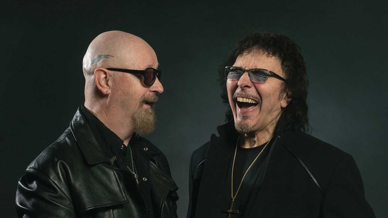 We brought Tony Iommi and Rob Halford together for the ultimate metal summit
