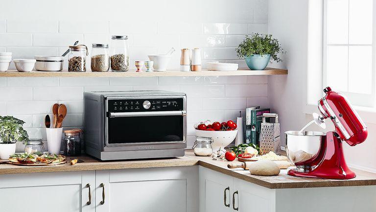 KitchenAid KMQFX33910 Free Standing Microwave combi oven