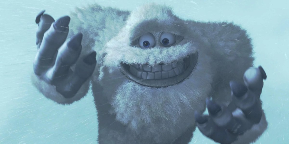 John Ratzenberger as Yeti in Monsters Inc.
