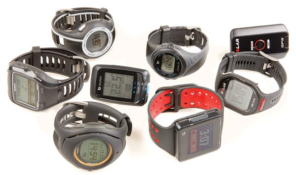 GPS watches grouptest