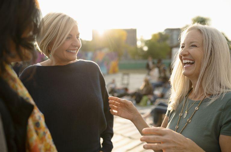 older women healthier happier