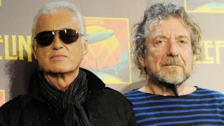 Jimmy Page and Robert Plant in 2012