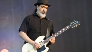 Kim Thayil of Soundgarden performs live