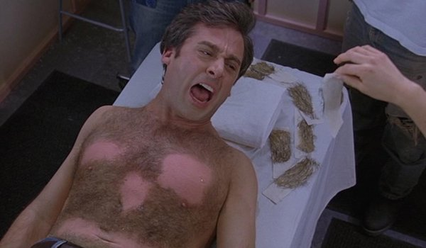 The 40-Year-Old Virgin Steve Carell Andy screaming during his waxing