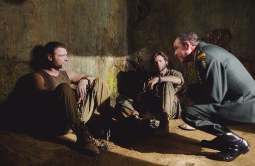 X-Men Origins: Wolverine - US major Stryker (Danny Huston) recruits half-brothers Sabretooth (Liev Schreiber) & Wolverine (Hugh Jackman) to his black-ops team of mutant soldiers