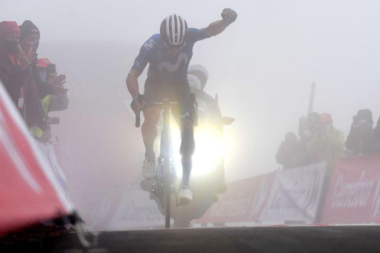 Miguel Ángel López wins stage 18 of the Vuelta a España
