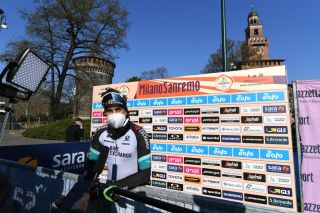 Michael Matthews (Team BikeExchange) before the start of Milan-San Remo