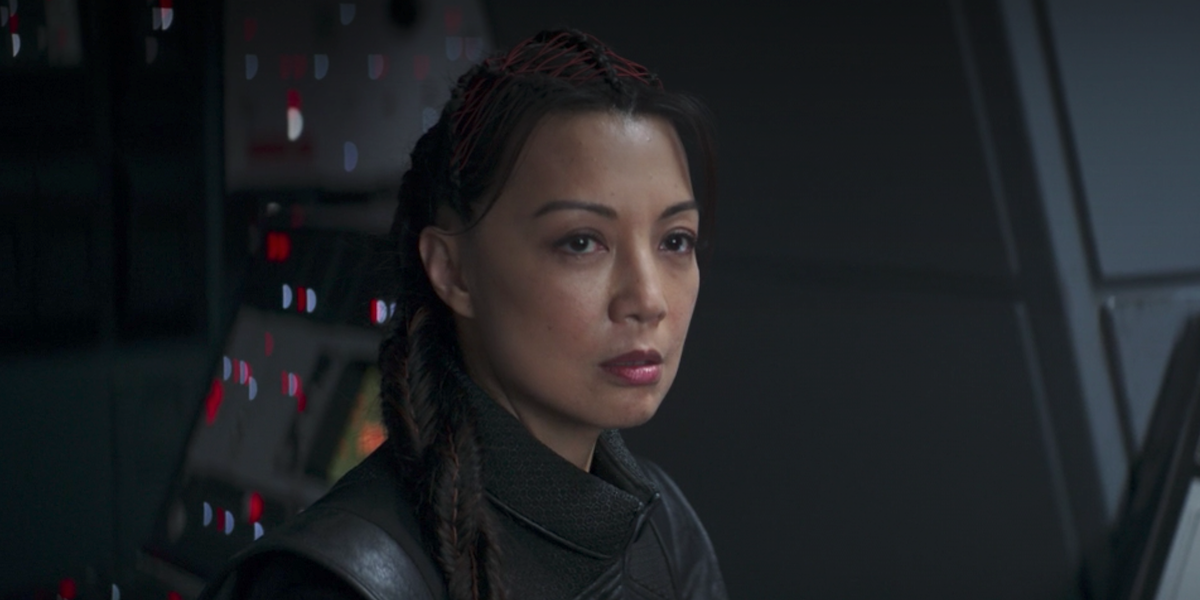 the mandalorian finale ming-na wen fennec shand