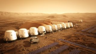 In June 2025, the second crew of Mars One pioneers is slated to land on Mars.