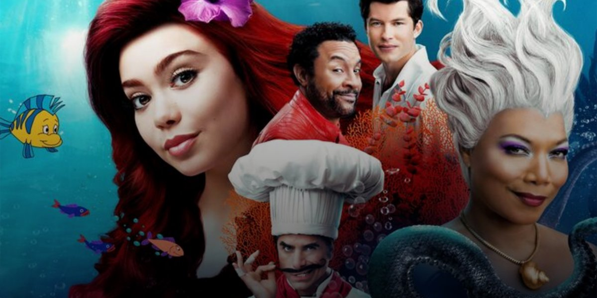 Ariel and cast in ABC's The Little Mermaid Live!