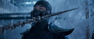 Joe Taslim as Sub-Zero in 'Mortal Kombat'