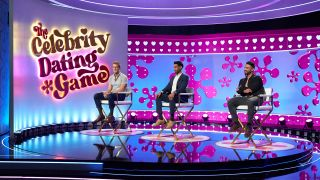 Potential 'Celebrity Dating Game' suitors Evan Faunce, Vishal Kal, and Jake Magness