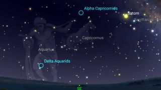 Look Up! Dazzling Double Meteor Shower Peaks Tonight