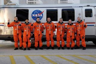 Endeavour Astronauts a Mix of Experience, Excitement