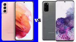Samsung Galaxy S21 vs S20