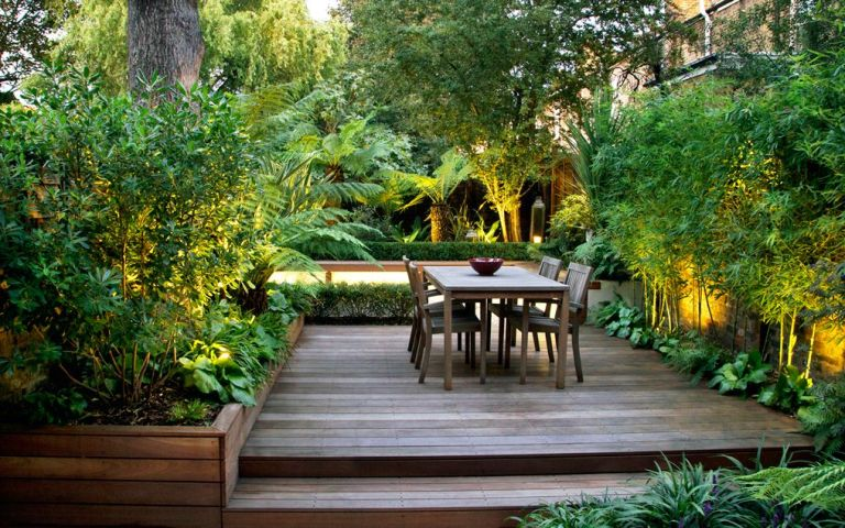 Garden screening ideas: town garden in Stockwell by My Landscapes