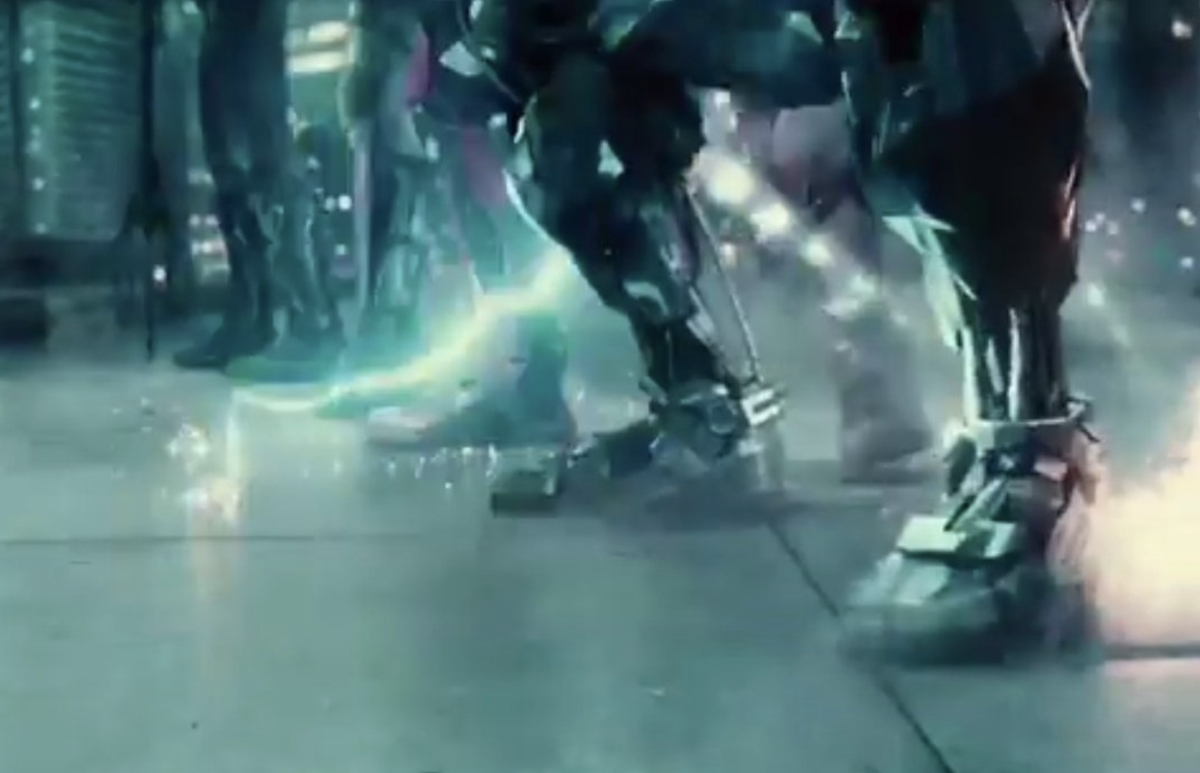 Justice League feet