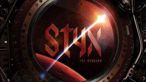 Cover art for Styx - The Mission album