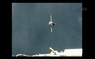 Russian Progress 48 Spacecraft Arrives at International Space Station