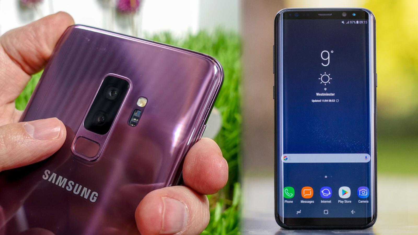 Samsung Galaxy S9 Plus vs Samsung Galaxy S8 Plus | TechRadar