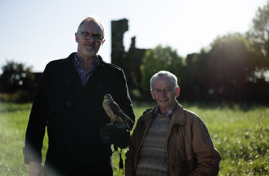 Greg and David Bradley Greg Davies: Looking For Kes