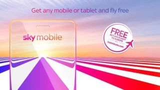 sky mobile phone deals with free flights