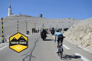 Russia's Aleksandr Vlasov of Team Astana rides during the Mont Ventoux Denivele Challenge on August 6, 2020, at the Mont Ventoux, southern France. - Mont Ventoux Denivele Challenge is a 182 kms one day race from Vaison-La-Romaine to Mont Ventoux, with nearly 4000 meters of ascending elevation. (Photo by Sylvain THOMAS / AFP) (Photo by SYLVAIN THOMAS/AFP via Getty Images)
