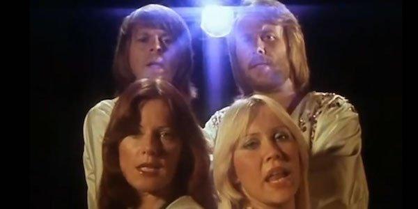 ABBA in a music video
